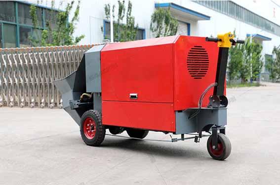电动二次结构浇筑泵(15kw)
