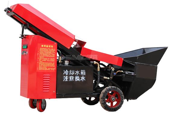 液压砂浆喷涂泵(3.75kw)